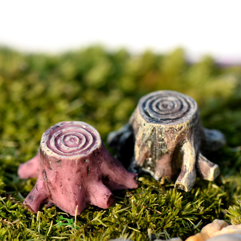 Lot Garden Ornament Miniature Figurine Craft Plant Pots Fairy Dollhouse Decor