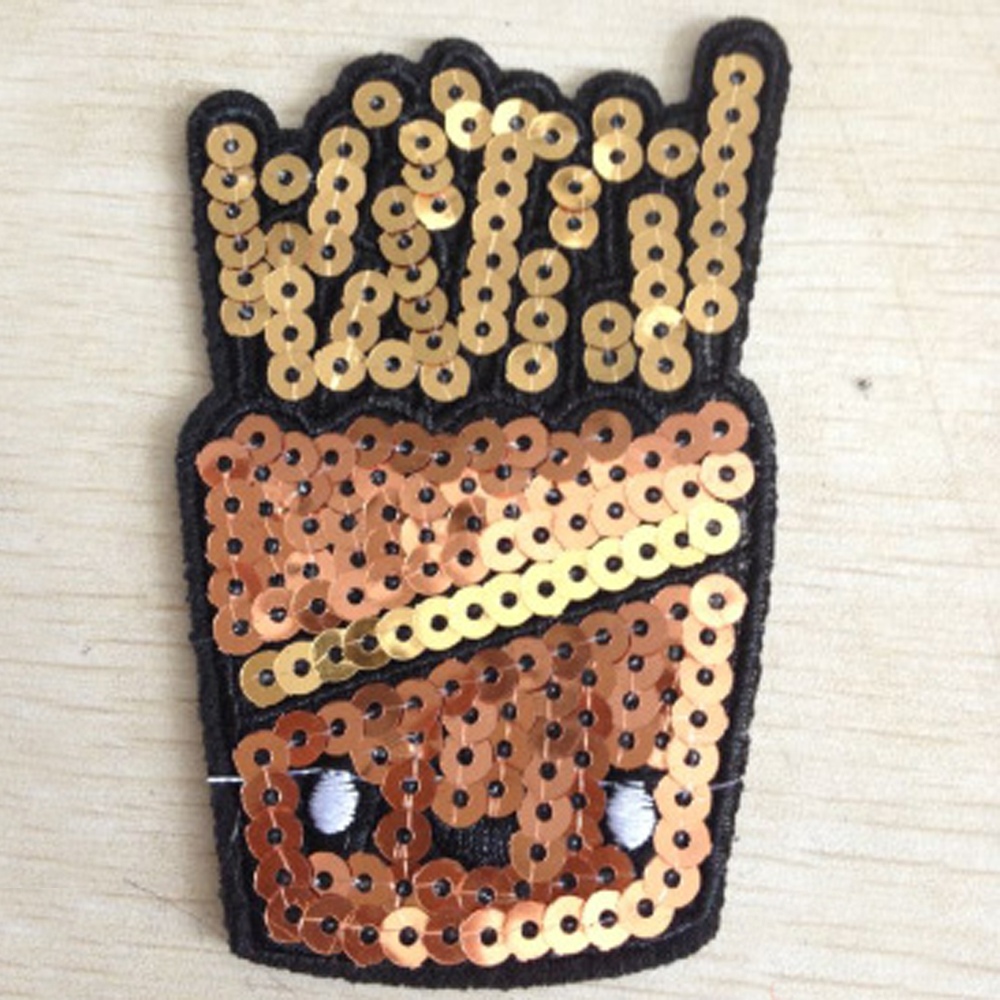 Variety-Cute-Sequins-Motif-Applique-Iron-On-Patch-Sew-Clothing-DIY-Accessories